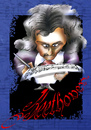 Cartoon: beethoven (small) by HSB-Cartoon tagged beethoven musik ludwigvanbeethoven oper operette classic noten künstler artist celebrity berühmtheiten music cartoon caricature beethovenkarikatur