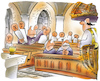 Cartoon: Kirchenbesucher (small) by HSB-Cartoon tagged kirche,kirchenaustritt,kirchensteuer,dom,pastor,priester,predigt,predigtkanzel,kirchenbesucher,heilige,messe,sonntagsmesse,abendmesse,pfarrer,pfarrei,pfarramt,klerus,vikar,diakon,messdiener,messebesucher,kirchenbank,altar,kathedrale,bischof,katholisch,evangelisch,christ,messdienst,cartoon,karikatur
