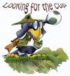 Cartoon: looking for the cup (small) by HSB-Cartoon tagged socer,wm,championship,southafrica,germany,fan,stadion,football,eagle,airbrush,airbrushdesign,cup,ball