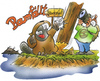 Cartoon: Naturaufnahmen (small) by HSB-Cartoon tagged natur,fotografie,biber,fluß,naturfreund,naturliebhaber,tier,baum,wald,ufer,airbrush