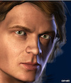 Cartoon: Anakin Skywalker (small) by Cartoonfix tagged hayden,christensen,anakin,skywalker,star,wars