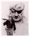 Cartoon: John Wayne (small) by Cartoonfix tagged john,wayne