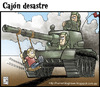 Cartoon: juguete belico (small) by Wadalupe tagged guerra,juguete,tanque