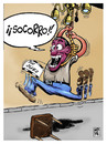 Cartoon: Sin retorno (small) by Wadalupe tagged humornegro,dibujo