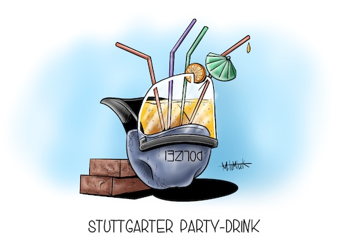 Stuttgarter Party-Drink