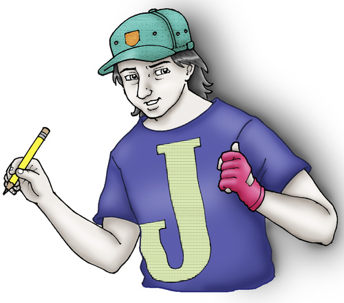 Cartoon: me JAYSON (medium) by jayson arellano tagged artist