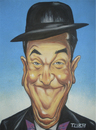 Cartoon: STAN LAUREL . O MAGRO (small) by TUBA tagged stan laurel