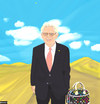 Cartoon: Ratzinger for Louis Vuitton (small) by nerosunero tagged ratzinger,papacy,pope,resignation,louis,vuitton,ads