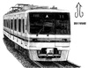 Cartoon: Sendai Subway 1000 Series (small) by Teruo Arima tagged train,rollingstock,railway,railroad,japan,sendai