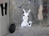 Cartoon: Conejo-Madrid (small) by ANTRUEJO-ENCONTRADO tagged conejo,rabbit,playboy,antruejo,street,art,arte,urbano,calle