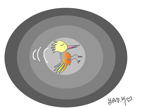 Cartoon: full target (medium) by yasar kemal turan tagged full,target