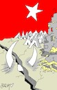 Cartoon: 17 august earthquake (small) by yasar kemal turan tagged 17,august,earthquake