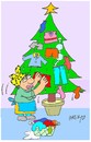 Cartoon: housewife (small) by yasar kemal turan tagged housewife