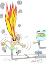 Cartoon: natural gas bill (small) by yasar kemal turan tagged natural,gas,bill