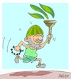 Cartoon: religious oppression (small) by yasar kemal turan tagged religious,oppression,turkey
