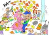 Cartoon: wedding (small) by yasar kemal turan tagged wedding