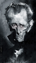 Cartoon: Peter Cushing (small) by Jeff Stahl tagged peter,cushing,jeff,stahl,digital,painting,wacom,caricature