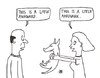 Cartoon: Awkward aardvark (small) by Jani The Rock tagged awkward,aarkvard,wordplay
