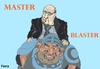 Cartoon: Beyound Thunderdome (small) by Fusca tagged blatter,lula,worldcup,2014