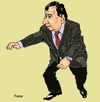 Cartoon: Sergio Cabral governor of Rio (small) by Fusca tagged corruption,lula,brazil,world,cup,2014