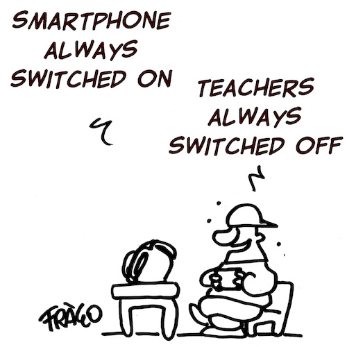 Smartphone at School