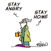 stay angry stay home