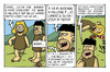Cartoon: caino e abele (small) by ignant tagged caino abele humor cartoon