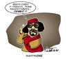 Cartoon: Gheddafoni (small) by ignant tagged gheddafi,libia,berlusconi,italy