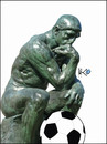 Cartoon: Thinker 2010 (small) by Zoran Spasojevic tagged emailart,digital,collage,graphics,thinker,spasojevic,zoran,paske,kragujevac,serbia
