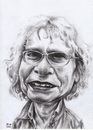 Cartoon: bookstore 04 (small) by Joen Yunus tagged bookstore,portrait,caricature,charcoal