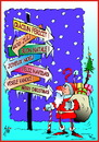 Cartoon: Merry Christmas (small) by SAI tagged merry,christmas,feliz,navidad,buon,natale,craciun,fericit,joyeux,noel