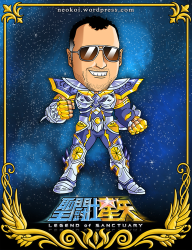 Cartoon: Rene Garcia - Actor de Doblaje (medium) by Neokoi tagged rene,garcia,caballeros,del,zodiaco,saint,seiya,cartoon,actor,de,doblaje,neokoi,caricatura