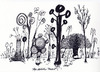 Cartoon: Forest Artistic (small) by helmutk tagged nature
