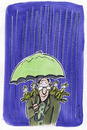 Cartoon: Rain BIrds (small) by helmutk tagged nature