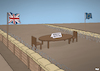 Cartoon: Brexit Negotiations (small) by Tjeerd Royaards tagged brexit,battlefield,uk,eu,europe