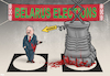 Cartoon: Elections in Belarus (small) by Tjeerd Royaards tagged belarus,dictator,elections,lukashenko,victory,cheat