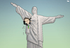 Cartoon: Elections in Brazil (small) by Tjeerd Royaards tagged brazil,democracy,president,elections