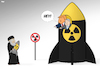 Cartoon: Nuclear Playground (small) by Tjeerd Royaards tagged trump,netanyahu,israel,iran,deal,usa,nuclear,weapons,bombs,ban