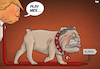 Cartoon: Play Nice (small) by Tjeerd Royaards tagged turkey,erdogan,kurds,usa,syria,attack