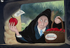 Cartoon: Putin and the Opposition (small) by Tjeerd Royaards tagged putin,russia,poison,witch,democracy,opposition