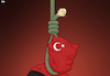 Cartoon: The Noose (small) by Tjeerd Royaards tagged turkey,erdogan,death,penalty,capital,punishment,noose,snake,execution