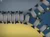 Cartoon: Ukraine (small) by Tjeerd Royaards tagged ukraine,kiev,protests,europe,russia,police