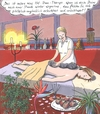 Cartoon: Hot Stone Therapie (small) by woessner tagged wellness,therapie,entspannung,relax,resort,erholung,medizin,humbug,esoterik