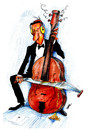 Cartoon: The Power of Music (small) by JARO tagged music black humor