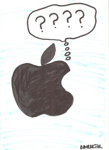 Cartoon: Steve Jobs (medium) by Seydi Ahmet BAYRAKTAR tagged steve,jobs