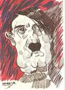 Cartoon: ADOLF HITLER (small) by Seydi Ahmet BAYRAKTAR tagged adolf,hitler