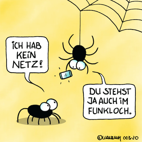 Cartoon: Arme Spinne (medium) by Rovey tagged spinne,netz,handy,funkloch,wlan,internet,verbindung,verbinden,mobil,kommunikation,signal,telekommunikation,3g,5g,digital,digitalisierung,dialog,bereich,empfang,spider,mobile,phone,connection,web,net,chat,bugs,blackspot,spinne,netz,handy,funkloch,wlan,internet,verbindung,verbinden,mobil,kommunikation,signal,telekommunikation,3g,5g,digital,digitalisierung,dialog,bereich,empfang,spider,mobile,phone,connection,web,net,chat,bugs,blackspot
