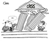 Cartoon: WHO PAYS FOR THE CRISIS? (small) by QUEL tagged who,pays,for,the,crisis