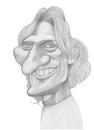 Cartoon: Diego Forlan (small) by pincho tagged diego,forlan,uruguayo,futbol,delantero,atletico,madrid,deporte