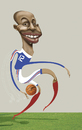 Cartoon: thierry henry (small) by pincho tagged thierry henry mundial futbol football mano hand barcelona francia